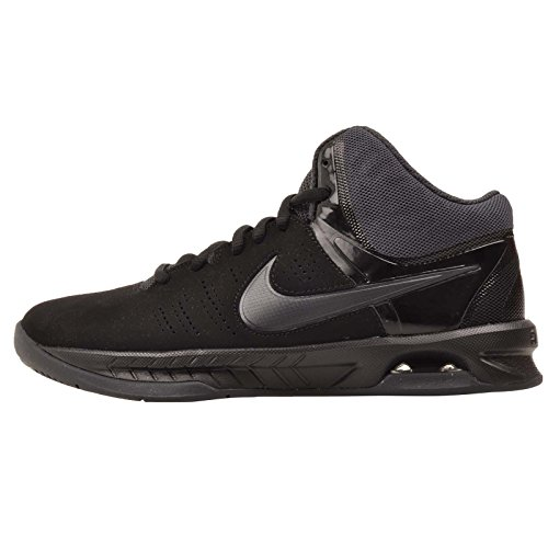 Nike Mens Air Visi Pro Vi Nbk Black/Anthracite Ankle-High Nubuck Basketball Shoe - 10M (Nike Air Max Classic Bw)