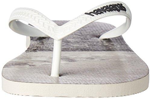 Havaianas Menns Hype Sandal Flip-flop Hvit / Hvit / Grå