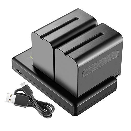 Neewer 2-Pack 6600mAh Li-ion