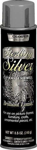 - Chase Brilliant Finish Spray Enamel 8.5oz, Sterling Silver