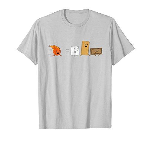 Funny Camping Shirt: Smores T-Shirt funny sarcastic novelty