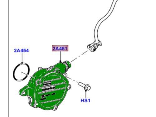 LAND ROVER VACUUM PUMP LR2 3.2L PETROL NEW LR009388