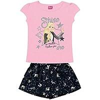 Conjunto Blusa e Short Barbie, Fakini, Meninas