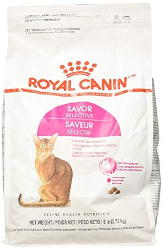 Royal Canin Croquetas para Gatos, Selective Savor Sensation, 2.72 kg (El empaque puede variar)