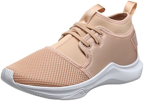 Beige Satin para Cross Puma Zapatillas Wn's Phenom Beige Peach White puma de EP Mujer Low ZCCBqw7