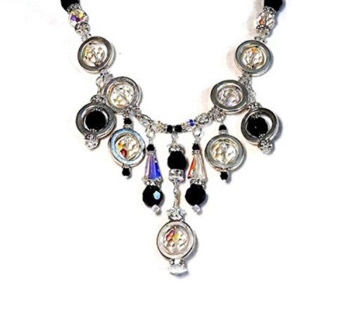 Retro 60s, Vintage Crystal Beads, Swarovski Crystal Beads, Mad Men - Male Look Retro