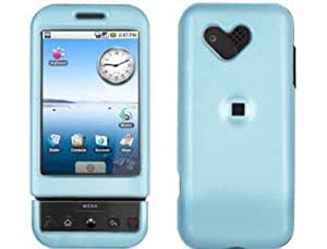 Hard Plastic Light Blue Phone Protector Case For T-Mobile G1