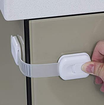 Kid Baby Security Safety Lock Protection Proof Door Cupboard Cabinet Drawer