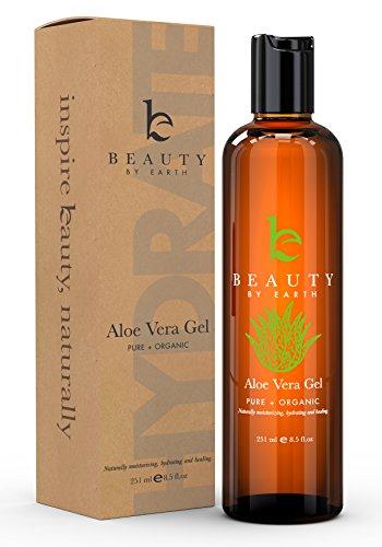 Aloe Vera Gel - Made With Organic Aloe Vera for After Sun (Georges Aloe Vera Lotion)