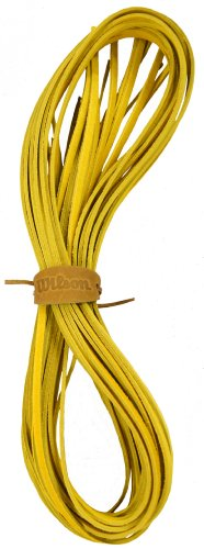 Wilson Pro Glove Lace Replacement (6 Strands To Do Entire Glove) (Yellow) (Baseball Leather Glove Pro Stock)