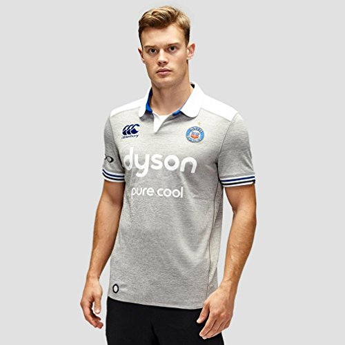 - Bath Rugby Alternate Pro Rugby Jersey - Grey