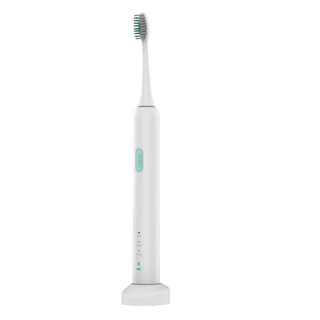 Sonmer T1plus Portable Electric Toothbrush, 3 Brushing Modes,Oral Hygiene Electric Massage Teeth Care (White)