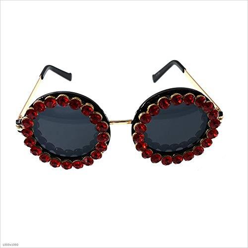 Ronde Couleur Protection Rouge Conduite Protection Sunglasses Sumferkyh Multicolore Lady's pour 100 Voyage d'un Forme UV la UV Polarisé fqnAtpFw