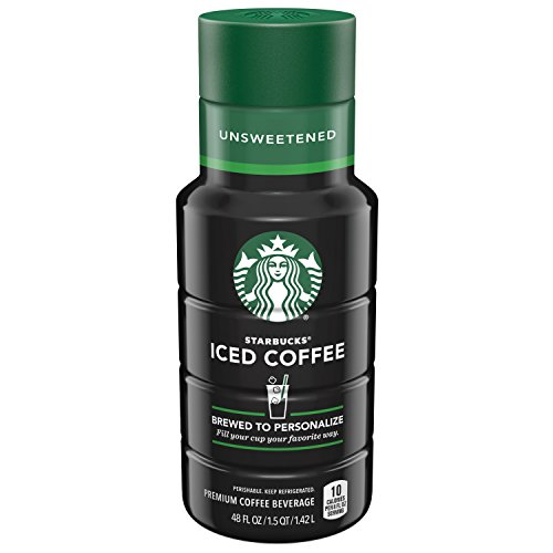 Starbucks Unsweetened Iced Coffee, 48 oz