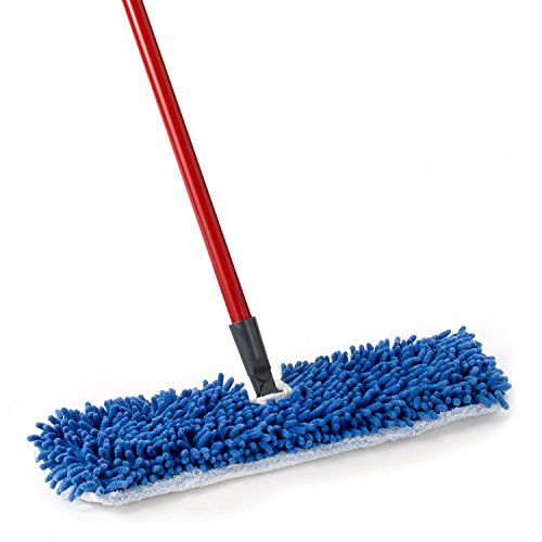 O-Cedar Dual-Action Microfiber Flip Mop with Telescopic Handle ()
