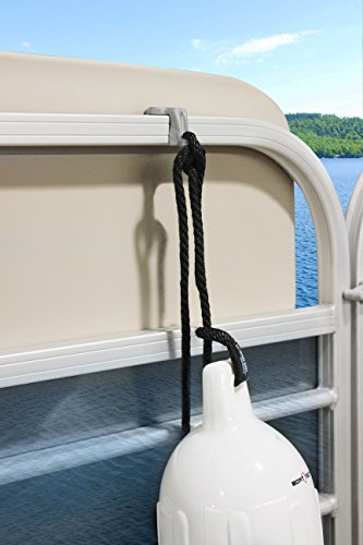 Extreme Max 3005.5002 BoatTector Pontoon Rail Fender Hanger/Adjuster – Pack of 4 by Extreme Max (Image #7)