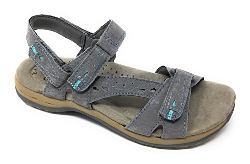 Earth Origins Mujeres Sophie Sandals Gray