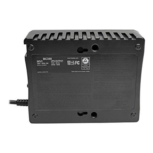 Tripp Lite BC350 350VA 180W UPS Desktop PC/MAC Battery Back Up Compact 120V, 6 Outlets by Tripp Lite (Image #3)