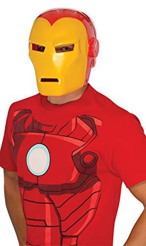 Rubie's Men's Adult Iron Man Mask, Multi, One Size -