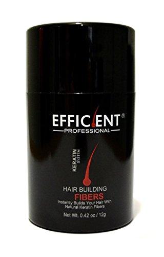 Hsr Perfect Effect - EFFICIENT Keratin Hair Building Fibers, Hair Loss Concealer Net Wt. 12gm/0.42 oz (Medium Blonde)