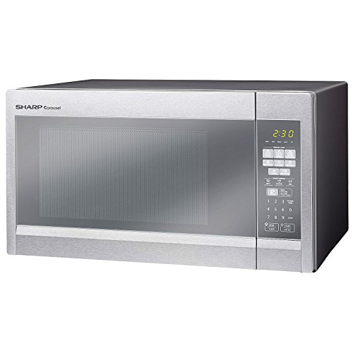 Sale!! Sharp R551ZM 1.8 Cu. Ft. 1100 Watts Sensor Technology Microwave Oven Stainless Steel (Certifi...