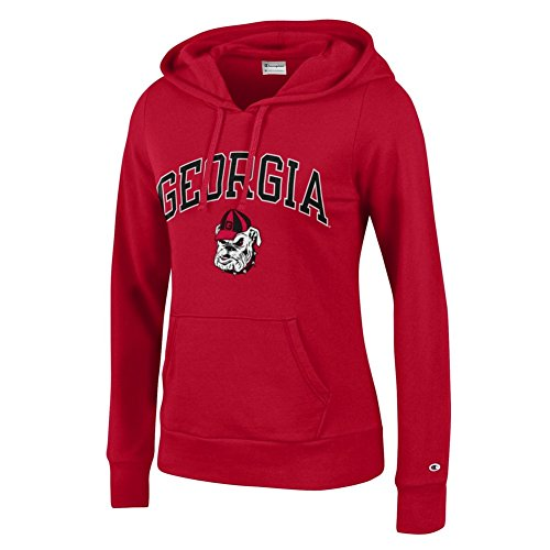 georgia bulldog hoodie for women - 1