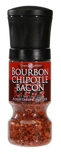 Dean Jacob's Bourbon Chipotle Bacon Gripper Grinder Mill 3.6 oz.