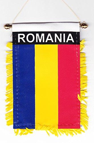 Romania - Window Hanging Flag