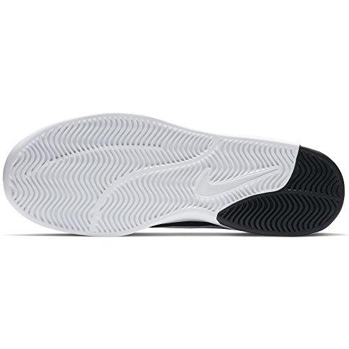 NIKE Herren SB Air Max Bruin Dampf L Skate Schuh Schwarz / Weiß-Weiß-Schwarz
