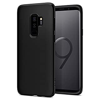 Spigen Liquid Crystal Works with Samsung Galaxy S9 Plus Case (2018) - Matte Black (B078B8ZGMY) | Amazon price tracker / tracking, Amazon price history charts, Amazon price watches, Amazon price drop alerts