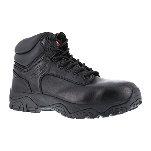 Iron Age Women's IA507 Trencher Fire and Safety Shoe, Black, 7.5 M US