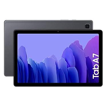 SAMSUNG-Galaxy-Tab-A-7-Tablet-de-104-FullHD-4G-Procesador-Octa-Core-Qualcomm-Snapdragon-662-RAM-de-3GB-Almacenamiento-de-32GB-Android-actualizable-Color-Gris-Version-espanola