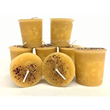 Crème Brûlée Pack of 8 Votive Candles 15 Hour Burn Time.