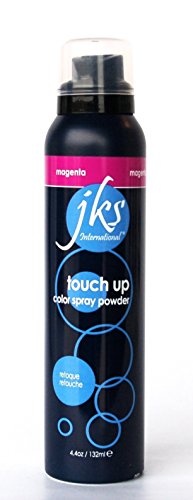 Touch up spray MAGENTA, temporary hair color spray powder (Jks Hair Color)