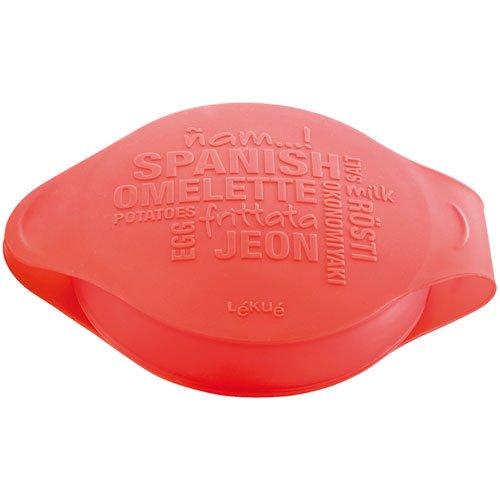 Lekue Spanish Omelet/Frittata Maker, Red, Small Lekue Cookware 3402800R10U008