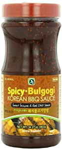 J1 Korean BBQ Sauce, Spicy Bulgogi, 34.27 Ounce