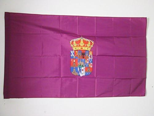 AZ FLAG Bandera de la Provincia DE Guadalajara 90x60cm para Palo ...