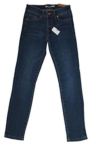 Skinny Blu Donna 44 Pantaloni Scuro Primavera Jeans Denim Estate 4rq40zxg