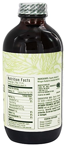 Almond Oil certified organic 8.5 oz by Flora (Image #1)