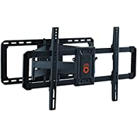 ECHOGEAR Full Motion Articulating TV Wall Mount Bracket for 42'-80' TVs - Easy To Install On 16' or 24' Studs & Features Smooth Articulation, Swivel, & Tilt - EGLF2