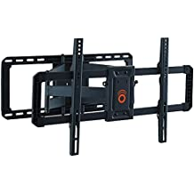 "ECHOGEAR Full Motion Articulating TV Wall Mount Bracket for 42""-80"" TVs - Easy To Install On 16"", 18"" or 24"" Studs & Features Smooth Articulation, Swivel, & Tilt - EGLF2"