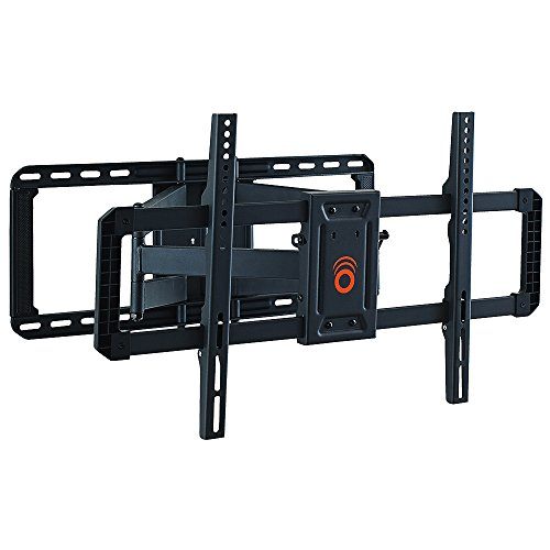 ECHOGEAR Full Motion Articulating TV Wall Mount Bracket for most 42-80 inch LED, LCD, OLED and Plasma Flat Screen TVs w/ VESA patterns up to 600 x 400 - 22