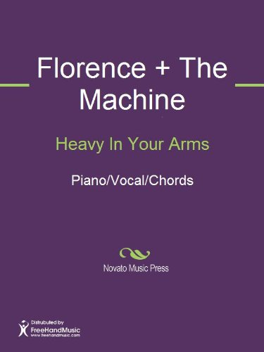 Heavy In Your Arms Sheet Music Pianovocalchords Kindle Edition
