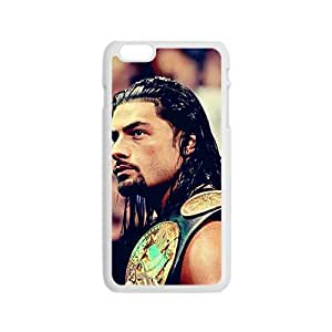 Happy Roman Reigns White Phone Case for Iphone6