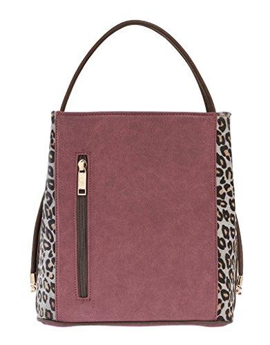 samoe-style-burgundy-merlot-suede-look-and-cheetah-classic-convertible-handbag