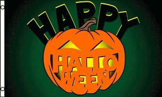 Happy Halloween Pumpkin Carving Banner 5'x3' Flag -
