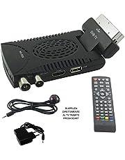 decodificador Digital Terrestre Mini HD DVB T2SCART 180USB HDMI 333