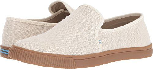 - TOMS Women's Clemente Canvas Slip On Shoes Birch Heritage Canvas 11