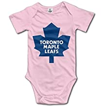 Toronto Maple Leafs BABY Funny Short Sleeves Variety Baby Onesies Body Suits For Boys
