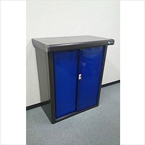 ダイマツ プレミアム収納庫 DM-0905B  物置 『おしゃれ 小型 物置 屋外 DIY向け』 ブルー B01HPDBLRA 16800